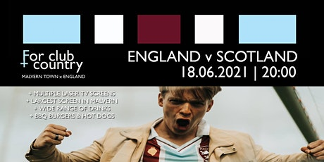 FOR CLUB + COUNTRY: ENGLAND v SCOTLAND (OUTDOOR TABLES) tickets