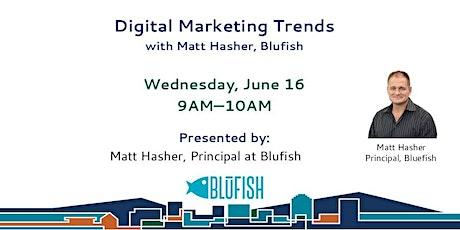 Digital Marketing Trends tickets