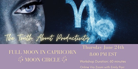 Full Moon in Capricorn Moon Circle tickets