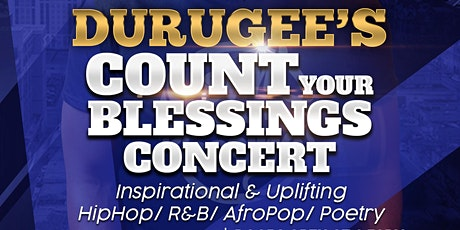 Count Your Blessings Album Concert tickets