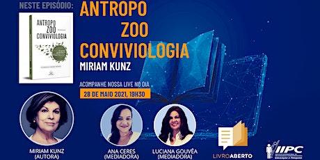 Live - Livro Aberto: Antropozooconviviologia bilhetes