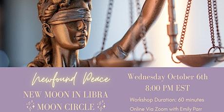 New Moon in Libra Moon Circle tickets