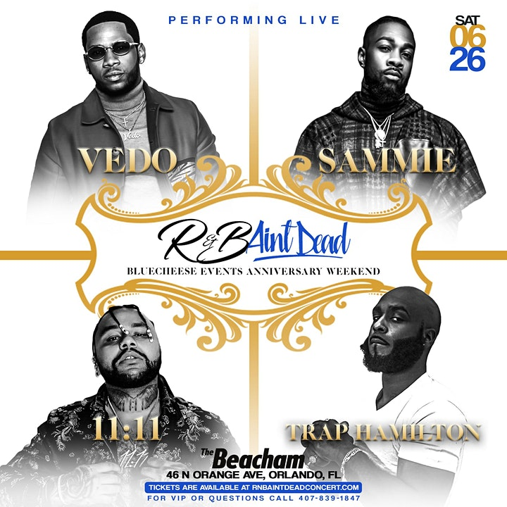 R&B AIN'T DEAD CONCERT: FEATURING VEDO & SAMMIE image