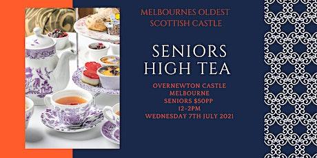 Seniors  High Tea  at Overnewton Castle tickets