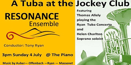 Resonance Ensemble  - A Tuba at the Jockey Club tickets