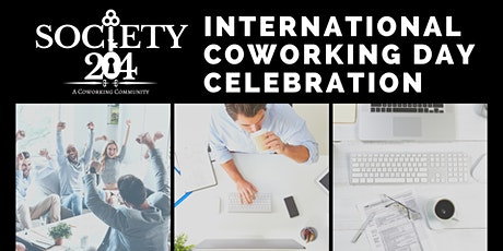 International Coworking Day at The Society tickets