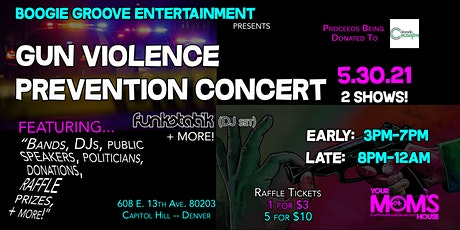 Gun Violence Prevention Concert Benefit/Fundraiser (Early Show) tickets