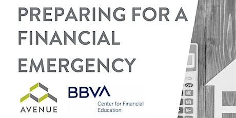 FREE Financial Webinar: Preparing for a Financial Emergency tickets