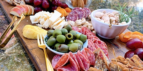 Cheese + Charcuterie board styling with The Gourmet Goddess tickets