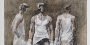 Reception for Drawing and Sparring at the FPAC Gallery