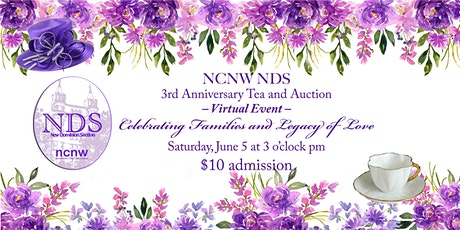 NDS NCNW Virtual 3rd  Anniversary Celebration Annual Scholarship Fundraiser tickets