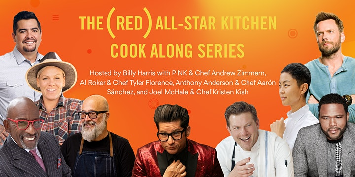 P!nk & Andrew Zimmern (RED) Cook-Along image