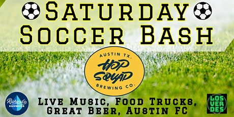 Saturday Soccer Bash @ Hopsquad tickets