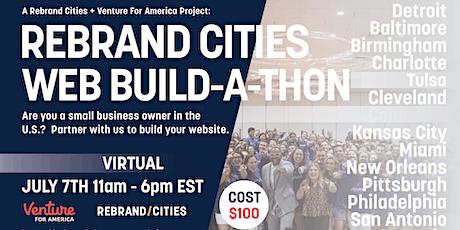 Rebrand Cities + Venture For America: Small Biz Website Build-a-Thon tickets