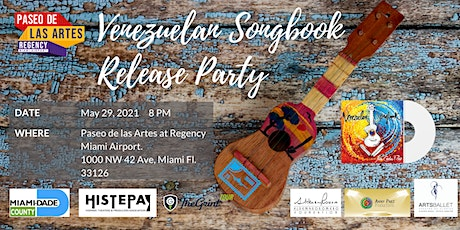 Venezuelan Songbook Release Party - online or face to face tickets
