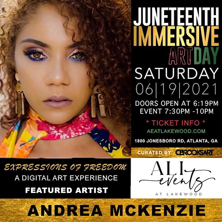 ALI Events -Juneteenth Immersive Art Day image