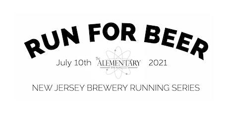 Alementary Brewing Co 5k Beer Run | 2021 NJ Brewery Run Series tickets