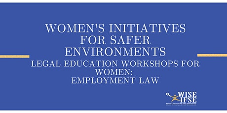 Legal Education Workshops for Women: Employment Law tickets
