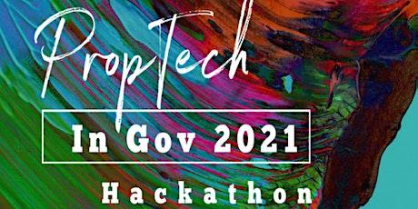 PropTech In Gov 2021 HACKATHON tickets