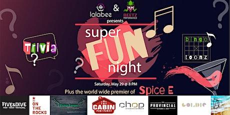 Super Fun Night: lalabee Trivia & Beetz Bingo Toonz tickets