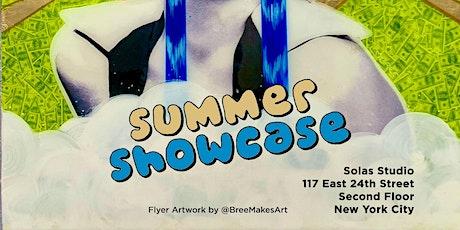 Summer  Showcase - June 2021 - Solas Studio NYC tickets
