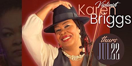 Karen Briggs Live at Suite tickets