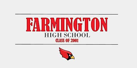 Farmington High School Class of 2001 | 20th Reunion tickets