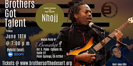 Brothers Got Talent: Nhojj Live In Concert tickets