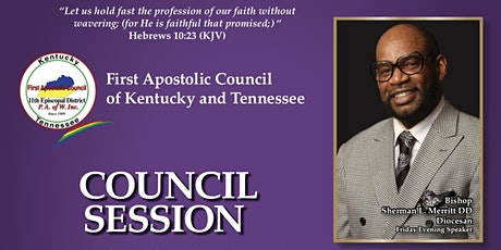 First Apostolic Council of KY & TN Summer Session tickets
