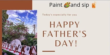 Fathers Day Paint and sip tickets