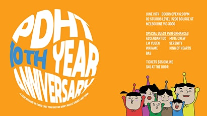 (Postponed) PDHT 10 YEAR ANNIVERSARY SHOW tickets