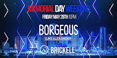 Borgeous Memorial Day Weekend  at LA V Nightclub Miami 5/28 tickets