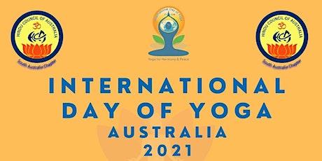 International Day of Yoga -Australia 2021 -Free tickets