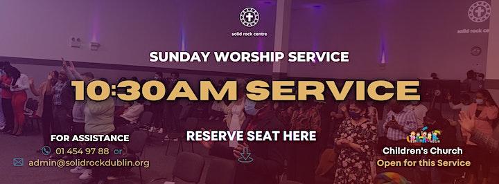 SUNDAY 10:30 WORSHIP SERVICE image