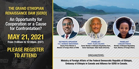 Discussion on The Grand Ethiopian Renaissance Dam: Ethiopian Perspective tickets