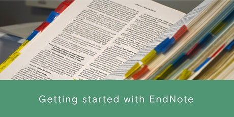 Getting started with EndNote tickets