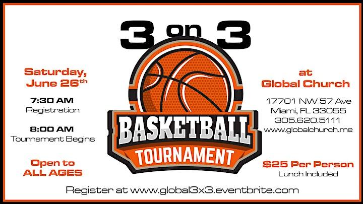 3 X 3 Basketball Tournament image