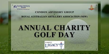 Condon Advisory Group & RAA Association Annual Charity Golf Day - CANCELLED tickets
