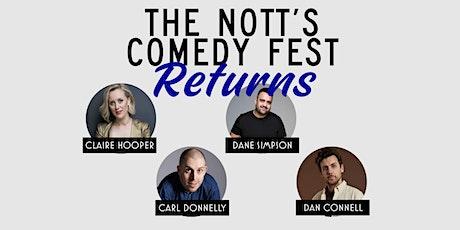 The Nott's Comedy Fest RETURNS! tickets