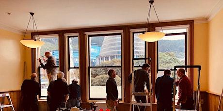 Sash window conservation workshop tickets