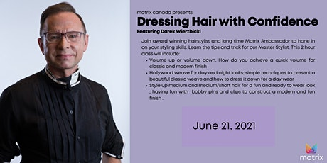 Dressing Hair with Confidence tickets