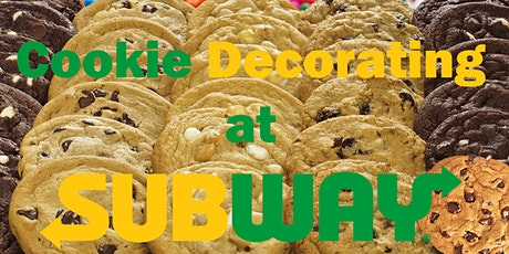 Cookie Decorating by Subway The Gap tickets