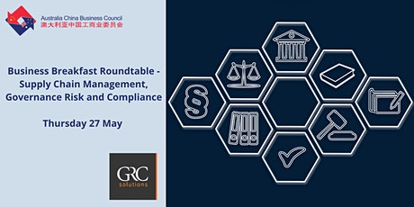 Business Breakfast- Supply Chain Management, Governance Risk and Compliance tickets