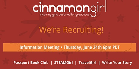 We're Recruiting! Tickets