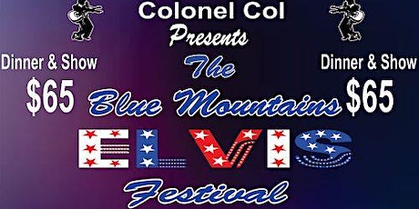 Blue Mountains Elvis Festival - Saturday Dinner and Show tickets