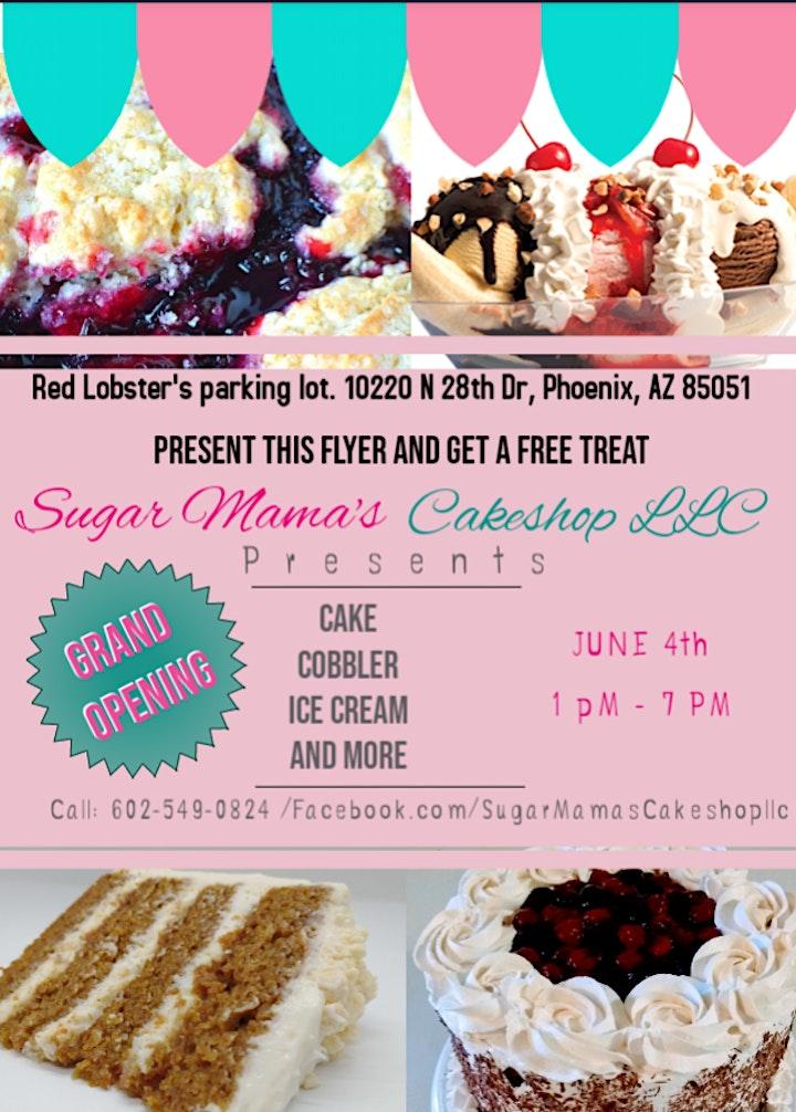 Sugar Mama's Cakeshop Dessert Food Trailer Popup image