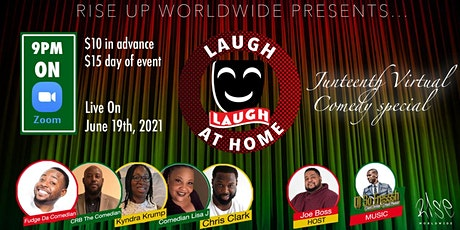 Laugh at Home - Juneteenth Comedy Special tickets