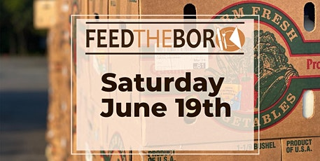 Feed The Boro June 2021 Community Food Distribution tickets