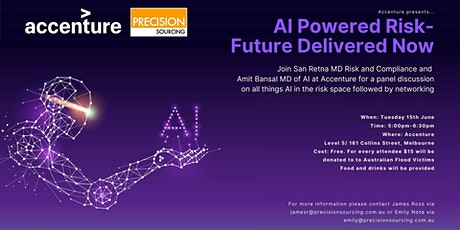 AI Powered Risk - Future Delivered Now | Melbourne tickets