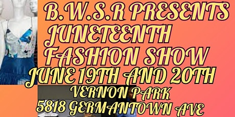 Juneteenth Fashion Show tickets
